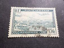 ALGERIE, 1946/47, timbre aérien 3, poste aerienne AVION, oblitéré, VF used stamp