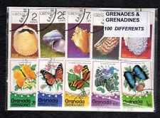 Grenade Grenadines - Grenada Grenadines 100 timbres différents