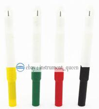 Insulation Test Piercing Needle Non destructive colourful Mini Back Probe Wire