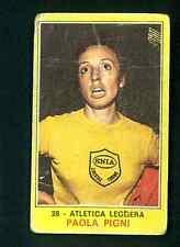 Fig. Campioni dello Sport Panini 1970-71 n.28! Paola Pigni! Atletica Leggera!!