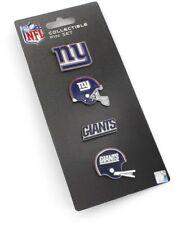 New York NY Giants Logo NFL Football Evolution Collectible 4 Piece Pin Set