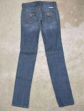 Frankie B Jeans Low Skinny Straight Sz 2 XL  w  F Pockets  $198