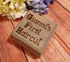 Baby 1st Curl Haircut Keepsake Box Custom Gift Boy Girl Gift Baby shower Gift