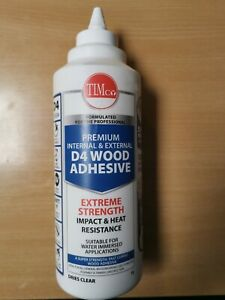 PREMIUM INTERNAL & EXTERNAL D4 WOOD ADHESIVE EXTREME STRENGTH 1L