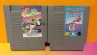 Dragon Power + Karate Champ - Nintendo NES Authentic Game Tested Works