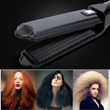 Crimped Corrugation Hair Crimper Flat Electric Ceramic Corrugated Hair Wave