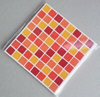 Self Adhesive Mosaic Tile Stickers Transfers Transform Bathroom Kitchen Decal