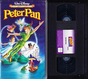 VHS Peter Pan - Walt Disney Meisterwerk