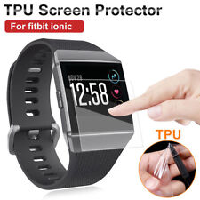 Clear HD Full Face Coverage TPU Film Screen Protector Cover For Fitbit Ionic
