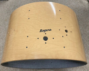 """Rogers 24"""" X 14"""" Bass Drum Shell Vintage 1970s - Natural Blonde"""