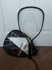 """Head Defiant Oversize Racquetball Racket with Cover 3 3/4"""" Grip"""