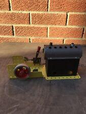 Mamod Meccano steam engine