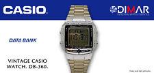 VINTAGE CASIO DB-360 DATABANK MULTI LINGUAL. QW2515. WR, AÑO.2002