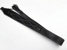 BLACK LEATHER RIFLE SLING AUSTRALIAN MADE  BRAND NEW-