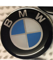 BMW logo Badge domed Car Sticker  3D Effect 40mm diameter 100% vinyl NOT Printed