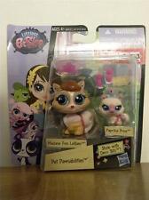 Littlest Pet Shop LPS  #3666 Madame Pom LeBlanc Cat and #3667 Paprika Price