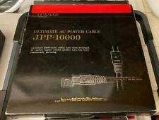 LUXMAN Hi Fi Audio Power Cable Cord JPP-10000 1.8m meters Japan Brand since 1925