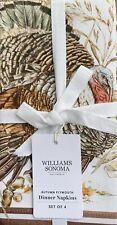 New ListingWilliams-Sonoma Autumn Plymouth Napkins Set/4