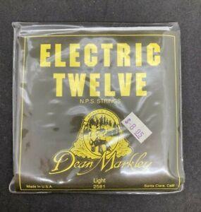 DEAN MARKLEY Electric Twelve Strings Light #2581 with sticker