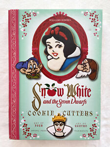NIB Williams Sonoma Snow White and the Seven Dwarfs Set 4 Cookie Cutters Disney