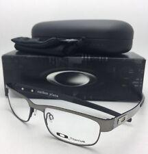 New OAKLEY Eyeglasses CARBON PLATE OX5079-0253 Gunmetal Titanium w/ Carbon Fiber