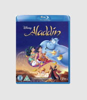 Aladdin Blu-ray - Disney Movie Club [Region free] + Never Seen Special Features