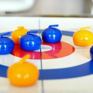 Family Curling Table Game Adult Training Kids-Child Tabletop Ball-Game Fun Toys