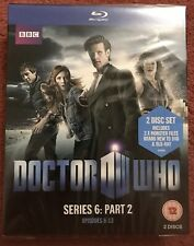 Dr Who Blue-Ray Box Set - Series 6, Part 2