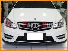 12-14 Mercedes W204 C250 C300 C350 Coupe/Sedan Carbon Fiber Diffuser + Front Lip