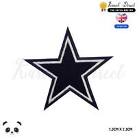 Blue Star Disney Embroidered Iron On Sew On Patch Badge For Clothes Bags Shoes