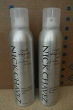 2 x Nick Chavez Aero Leave In Strengthening Hair Spray 8 oz each NEW