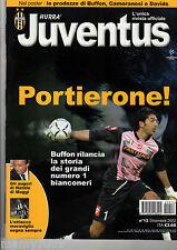 HURRA JUVENTUS=N°12 2002=BUFFON=POSTER CAMORANESI-BUFFON-DAVIDS