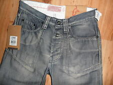 "BNWT 👤 Teddy Smith 👤 Men's Jeans (Taille 27"", Jambe 33"") Look Vintage Pantalon NEUF"