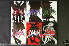 JAPAN Go Nagai,Yu Kinutani manga: Amon Darkside of Devilman 1~6 Complete Set