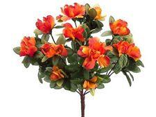 "13"" Azalea Bush X8 (Pack of 12)  Artificial Flower Silk"