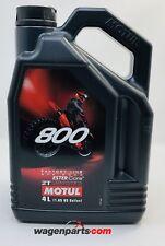 MOTUL Aceite Engrase Mezcla 800 2T FL Off Road, 4 L Motocross