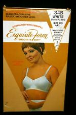 NOS 34B VTG 1960s 1970s SEAMLESS CUP BRA Smooth'n Soft Exquisite Form P3360 70s