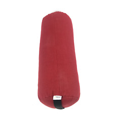 Bean Products Round Hemp Red Yoga Bolster #NO2745