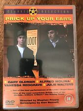 Gary Oldman Alfred Molina PRICK UP YOUR EARS ~ 1987 Gay / Joe Orton Drama UK DVD