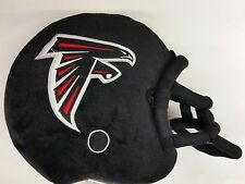 "NFL Atlanta Falcons 14"" x 12"" x 5"" Helmet Shaped Toss Pillow,  NEW"