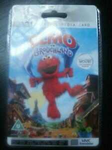 Elmo in Grouchland Rare Collectors Sealed MMC 128MB Digital Media Card  Movie