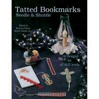 Handy Hands Tatted Bookmarks - Needle & Shuttle 769826321033