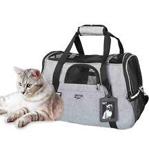 Transporttasche  Haustier Tragetasche Katze Reisetasche Hunde bis 5kg Flugzeug