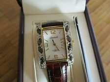 ingersoll gems exotic, stunning large cased quartz watch,,in box
