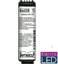 1 Batteria per allarme  BAT28 BatLi28 compatibile Daitem Logisty 3.6V 2Ah LITIO