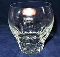Svend Jensen EMPRESS CLEAR Double Old Fashioned Tumbler, New with Sticker