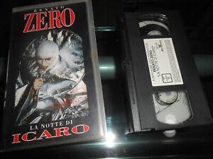 VIDEOCASSETTE VHS  film LA NOTTE DI ICARO DI RENATO ZERO - BMG