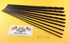 "6"" Aircraft Extension Drill Bit Set 6"" Long M7 Lifetime Warranty DrillHog USA"