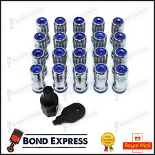Spline bleu lecteur écrous de roue 12x1.25 d1spe fits SUBARU IMPREZA STI WRX