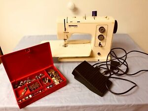 BERNINA 830 Record Sewing Machine Accessories Presser Feet Extension Tray Table